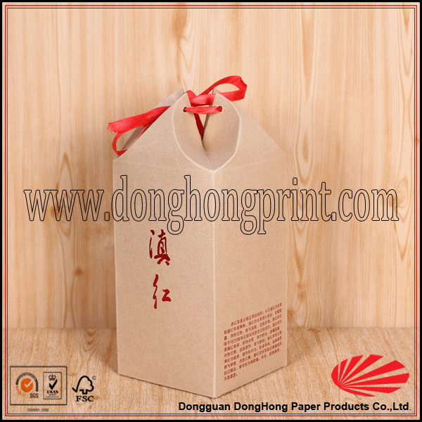Eco friendly material Retail Twisted Decorative Tea Boxes
