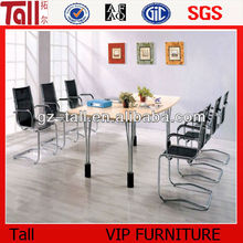 2014 modern conference table 4 legs steel
