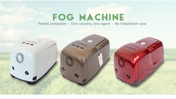 Fogging machine mini misting system  disinfect dedusting equipment greenhouse water mist fog cannon machine