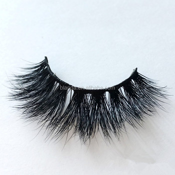 2018 New Styles 100% Handmade 3d Faux Mink Lashes Own Brand