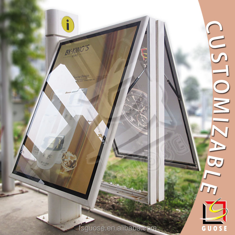 aluminum frame light box used outdoor lighted signs bar signs