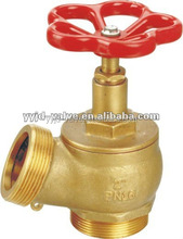 High Quality DN 50 brass fire hydrant valves with Oblique