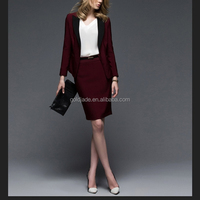 2015 wholesales hotel staff uniform ,make clothing suit uniform hotel front office,women sey hotel manager uniform dress sets