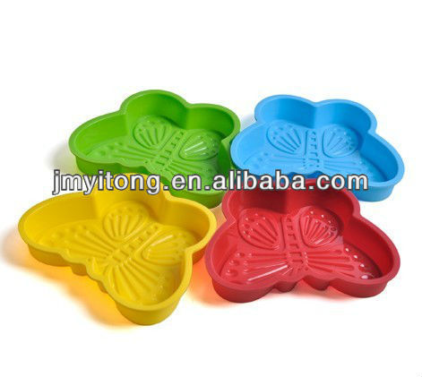 colourful silicone baking molds