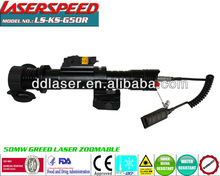 Power zoomable laser designator,optical compact riflescope, LASERSPEED, CE&FDA