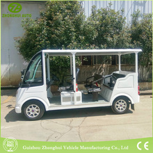 mini Electric Sightseeing vehicles with 8 seat pass CE certificate