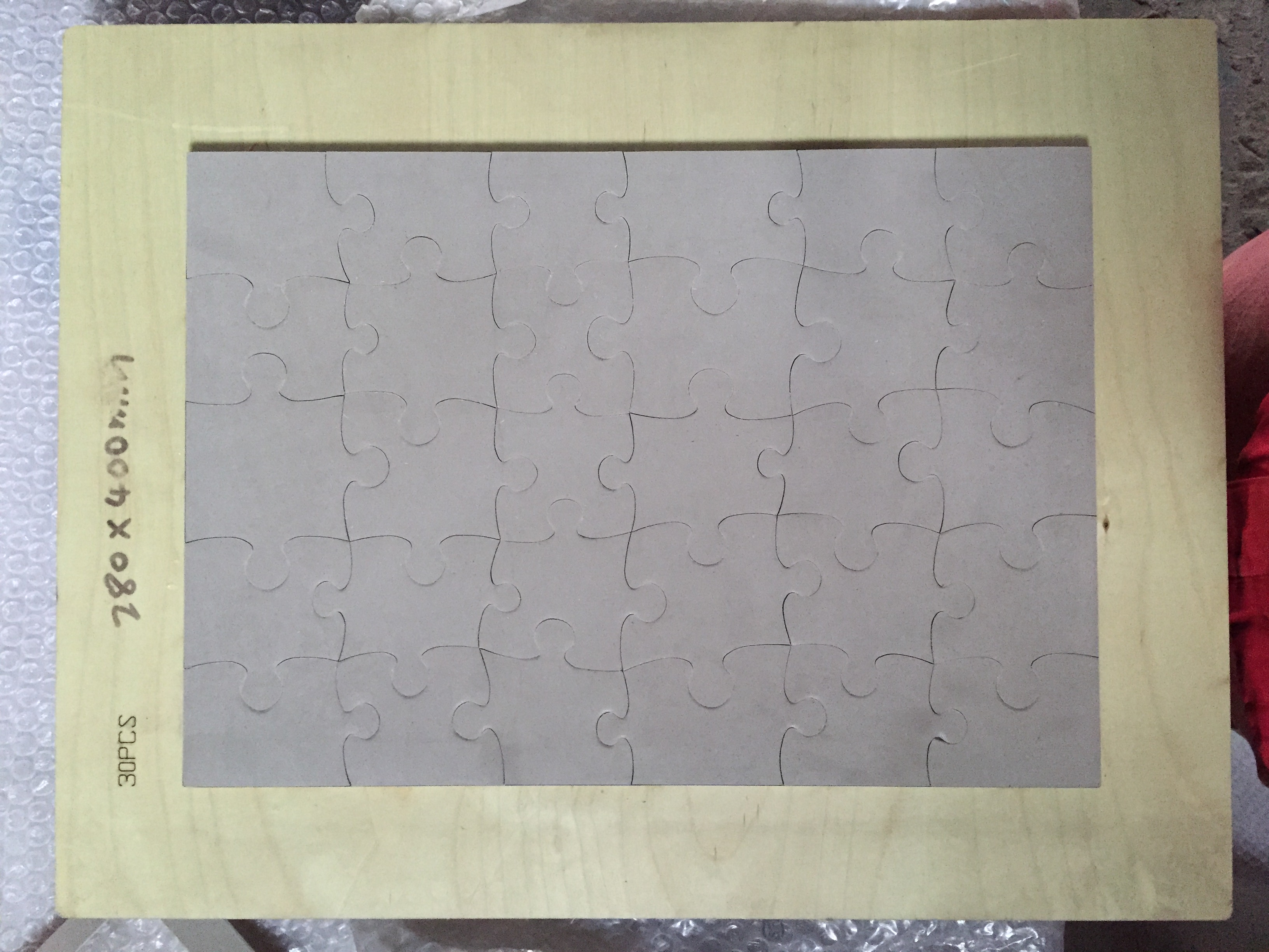 Steel rule jigsaw puzzle 750*500mm-1000pcs special SDESIGN