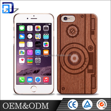 Custom OEM ODM natural genuine bamboo wood pattern phone case for Iphone 6/6s/6s plus 5se