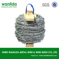 Q195 galvanized cheap barbed razor wire for sale ( SGS )