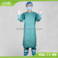 Wood pulp Spunlace Nonwoven Fabric Surgical isolation Gown