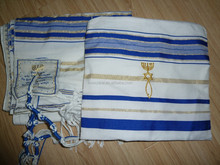 Prayer shawl Messianic Jewish Tallit 72*22inch