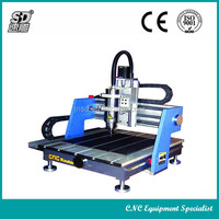 Mini desktop cnc router SD-4040 with G code and DSP control system hot sell
