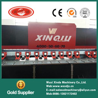 Factory price aluminum foil sheet v groove machine for metal