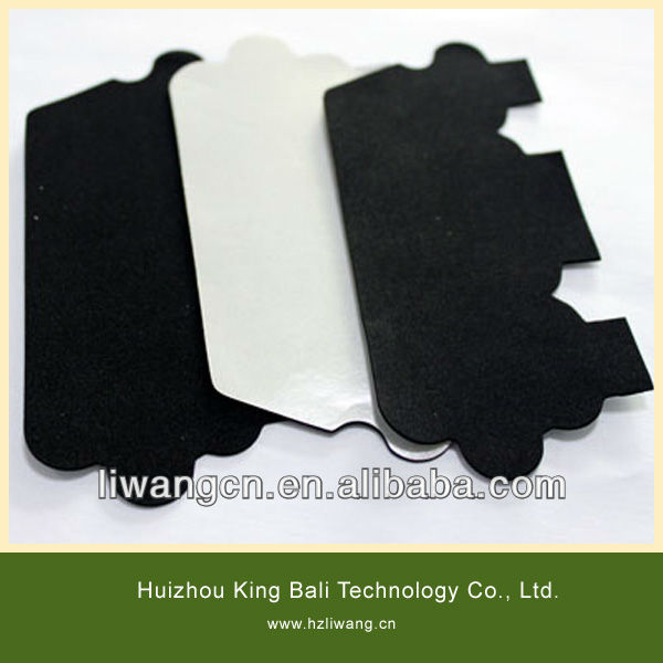 Customized shape CR rubber foam with adhesive