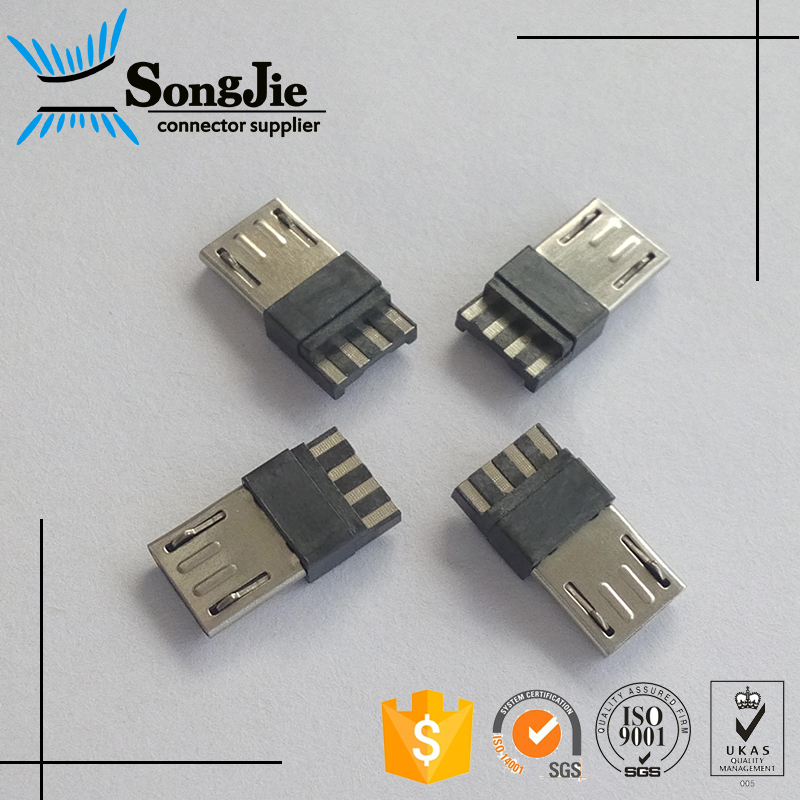 Mini/Micro USB Solder Connector Male To Female Type 5P 5Pin 5 Pin/Way/Position/Contact/Pole