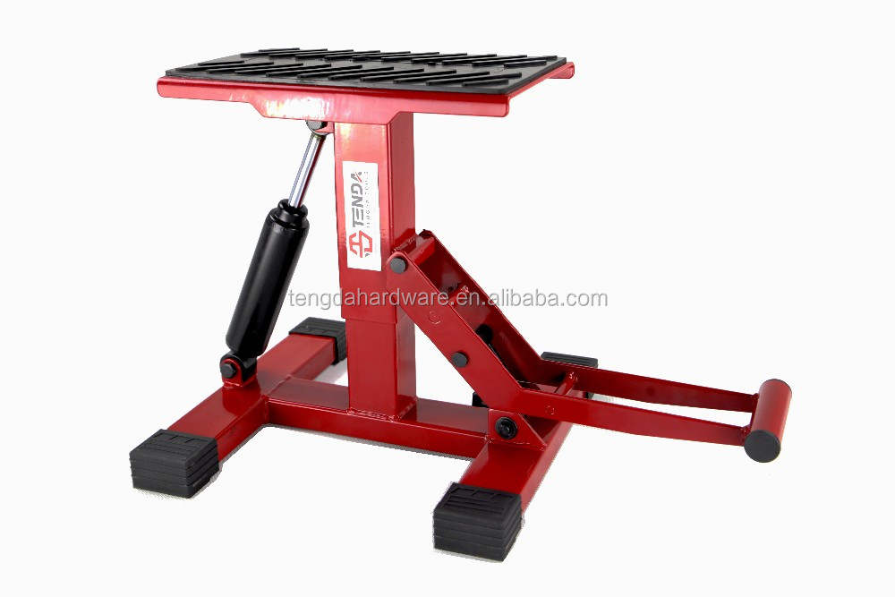 Motorcycle Lift Stand Dirt Bike Stand Height Adjustable Lift Stand