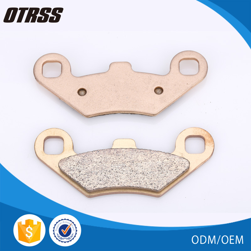 Top quality china sintered atv brake pads mountain bike parts for POLARIS