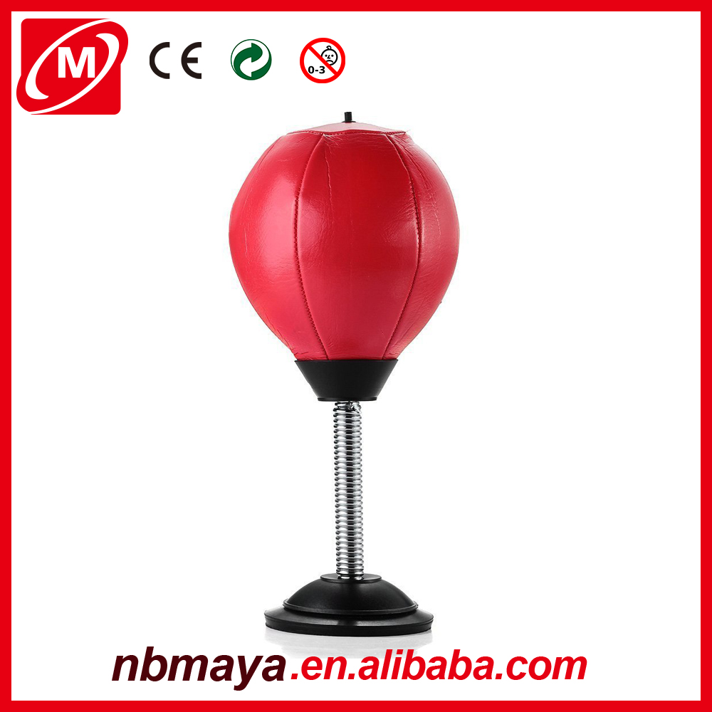 Man free standing custom tumbler Desktop Punching bag