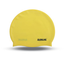 Wholesale silicone swimming cap with customized company logo/Long Hair Swim Cap