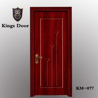 Hign class top china doors design industry pvc wood door on sale & Zhejiang Kings Door Industry Co. Ltd. - PVC DoorDoor
