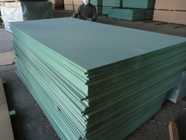 green 2.7mm 3mm 4mm anti water mdf
