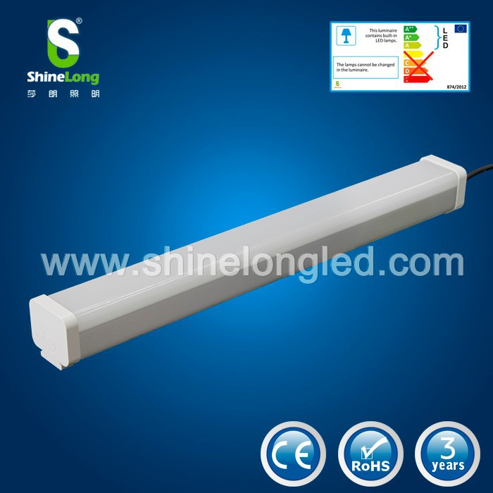 single tube t8 fluorescent fixture led batten light 8ft Triproof Light Led Lighting Fixtures