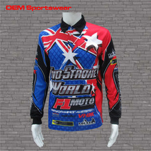 Wholesale motorcycle clothing custom made motocross jersey