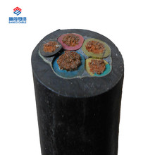 6KV rubber sheath soft cable for mine application