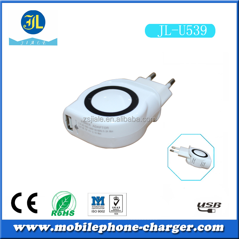 Mobile phone accessories factory price wall charger made in china used in Europe