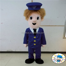Postman Pat costume/Human cartoon costumes/mascot costume for sale
