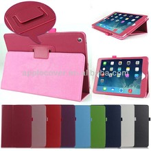 Promotional Price Newest PU leather cover case For iPad air , for ipad air pu case
