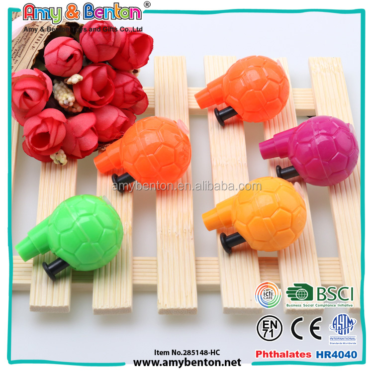 Colorful kids party favors toys plastic ball shooting gun
