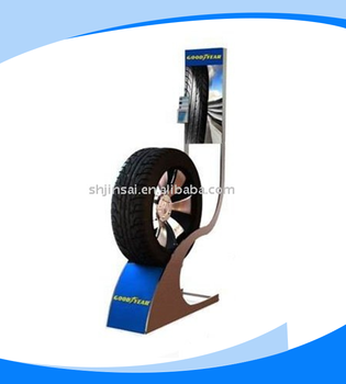 Luxury single tire display rack