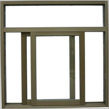 Price of aluminium sliding window for double glazed window with high quality
