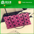 2016 NEW Geometric link Envelope package European style fashion handbags Casual shoulder bag