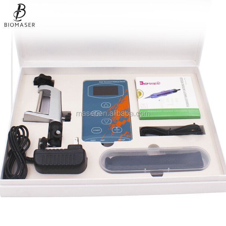 HOT CE Digital Semi Permanent Makeup Alis Tato Mesin Micropigmentation