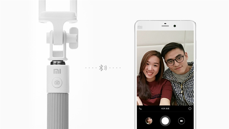 Original Xiaomi Selfie Monopod Stick Holder Extendable Handheld Bluetooth Shutter for IOS Android Mobile Phone topmall