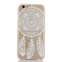 dream catcher design crystal clear case for huawei g610