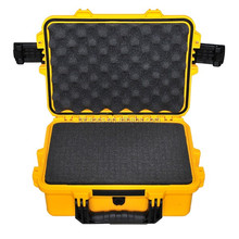 Tricases factory professional IP67 Hard plastic carrying tool case with foam insert