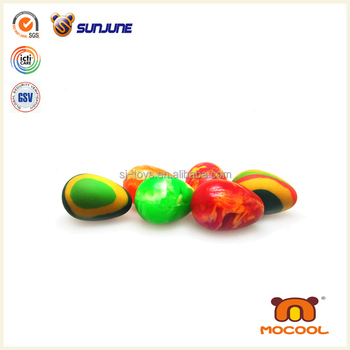Colorful solid rubber ball, popular cheap rubber ball wholesale