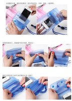 Practical Digital Camera Mobile Phone Waterproof PVC Bag Case Underwater Dry Pouch Sealed Bags 5 Colors Free Shipping