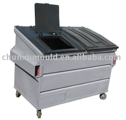 rotational garbage truck mould