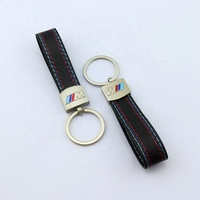 High Quality Top Grade M3 Leather Car Keychain For Promotion Gifts