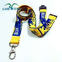 2018 no MOQ sublimation airline lanyard