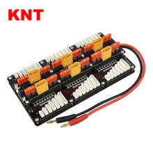 KNT 6 Packs JST-XH (2-8S) Charger Para Board 40A for XT90 Safe RC Paraboard