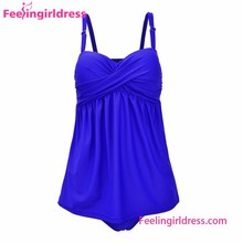 Royal Blue Sweet Fantasies Underwired plus size swim suit