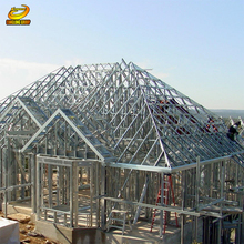 Pre-made light Steel structure house manufacturers from china