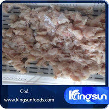 Dried salted cod bits and pieces
