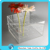 Plastic Transparent Flower Box Square Acrylic Show Box Popular Lucite 3mm thick Clear Flower Case