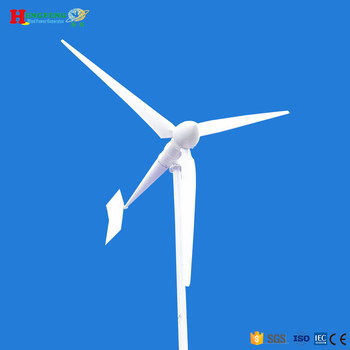 10kw wind turbine+2700w solar panels wind solar hybrid power system